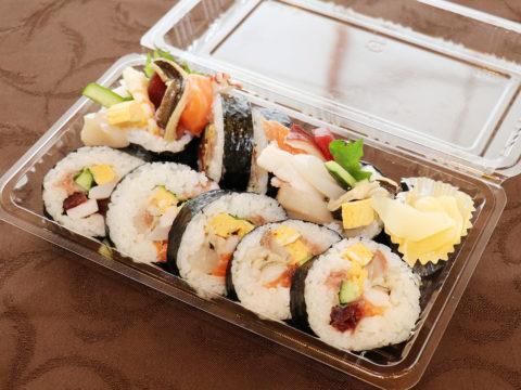 10種の海鮮太巻き