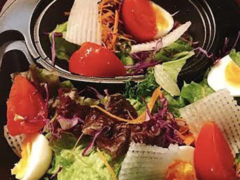 磐田産野菜のサラダ