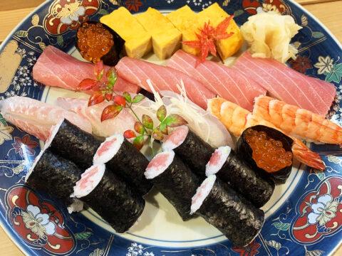 上寿司(写真は2人前)